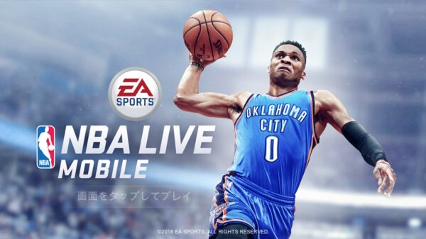 NBA LIVE Mobileアイキャッチ