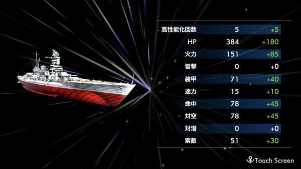 蒼焔の艦隊 高性能化