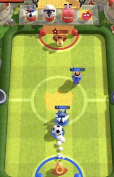 ランブルスターズサッカー カメレオン擬態