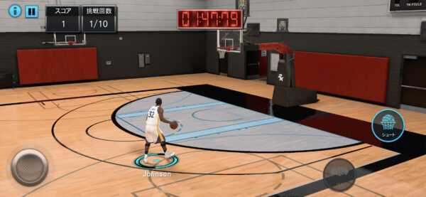 NBA 2K Mobileドリル