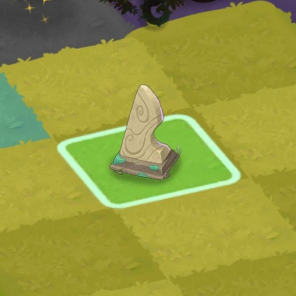マージマジック 石碑