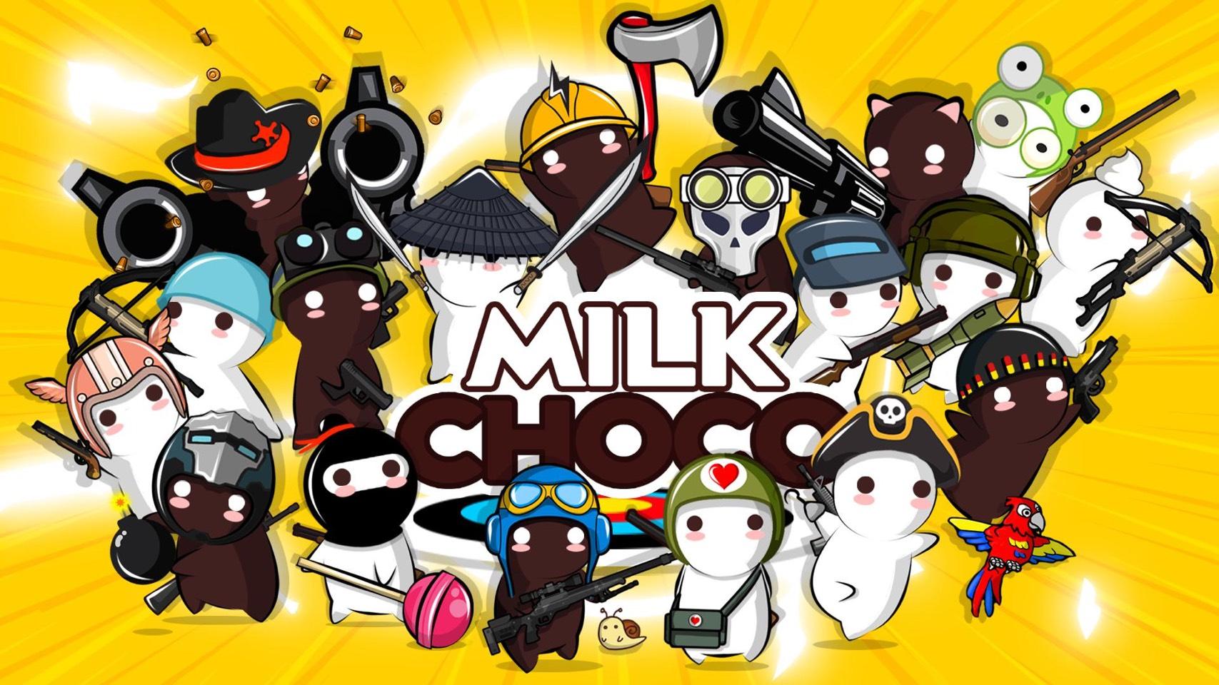 ミルクチョコオンラインのキャラクター