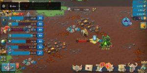 ロードモバイルの王国マップで見た魔獣