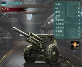 エイジオブゼット(age of z)初級迫撃砲