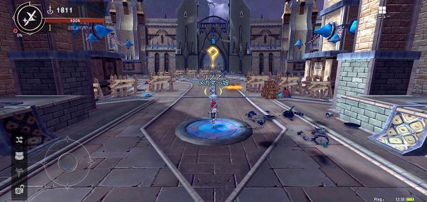 幻想神域2 ゲーム画面