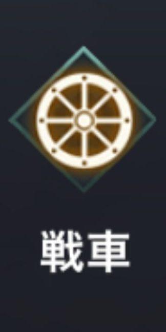龍の覇業の車輪マーク