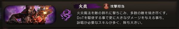 エターナル 特性 火炎
