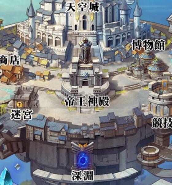 空島クロニクルの帝王宮殿