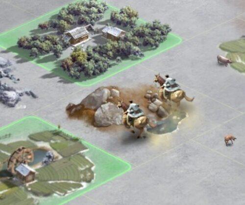 三国志真戦の偵察